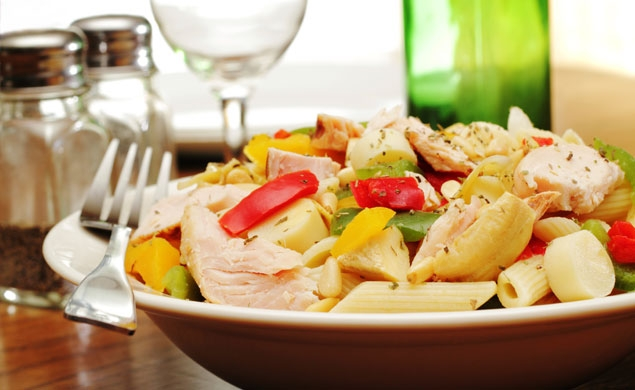 Crisp Summer Chicken Salad