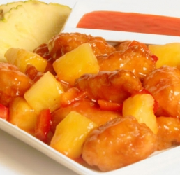 Sweet & Sour Boneless Wings