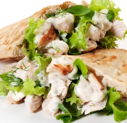 Chicken Ranch Pitas