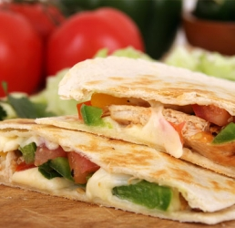 Simple Chicken Quesadillas