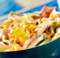 Bright Bowtie Chicken Salad