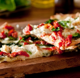 Chicken Florentine Pizza