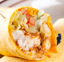Thai Chicken Wrap