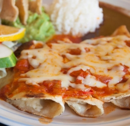 Slow Roasted Chicken and Cheese Enchilada