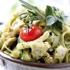 Chicken Pesto Salad