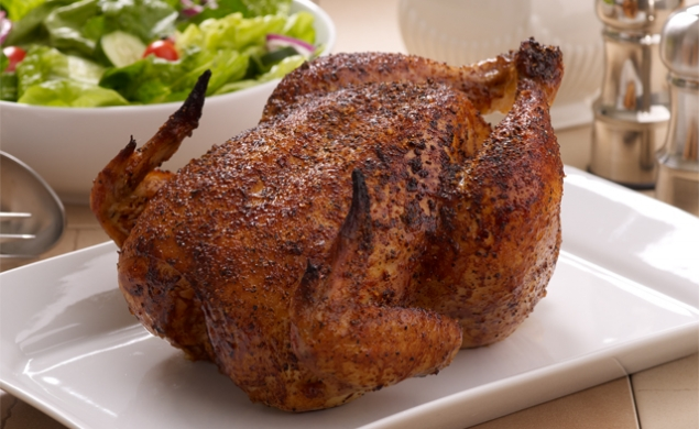 Barbecue Rotisserie Chicken
