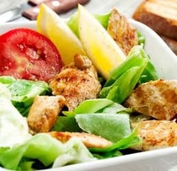 Tropical Treasure Diced Chicken Salad