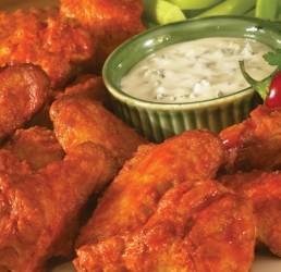 Buffalo Sauced Wings