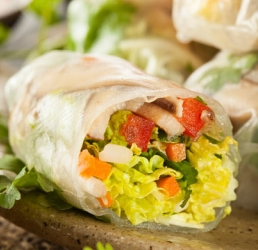 Thai Spring Roll Salad