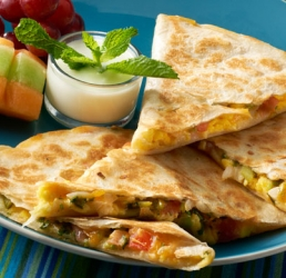 Tex Mex Breakfast Quesadilla