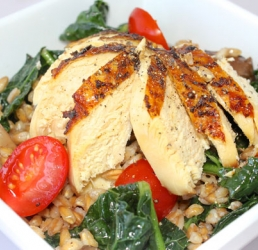 Italian Rotisserie Chicken, Vegetables & Farro