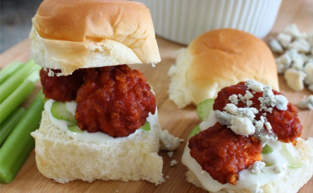 Buffalo Boneless Wings Sandwich