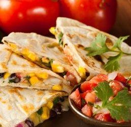 Smokey Chicken Quesadilla