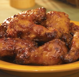 Barbecue Sauced Wings