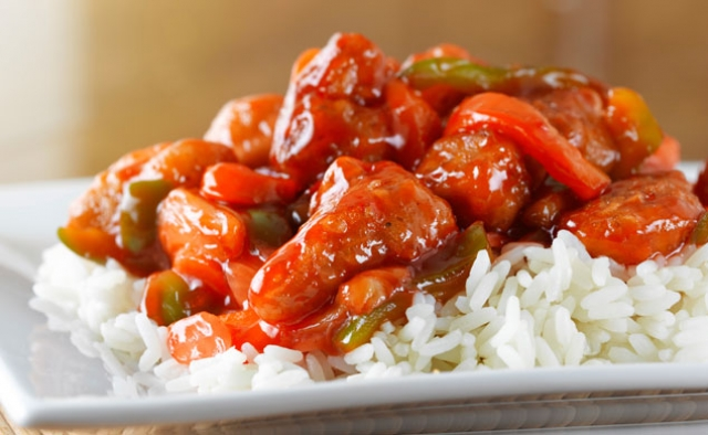 Sweet and Sour Orange Chicken