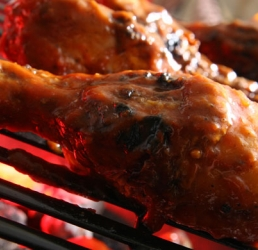 Over the Coals Barbeque Chicken