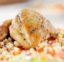 Rotisserie Chicken and Roasted Vegetable Quinoa