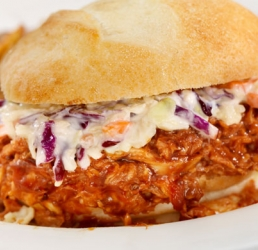 BBQ Pulled Rotisserie Chicken Sandwich