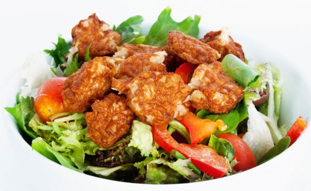 Spicy Chicken Chop Salad