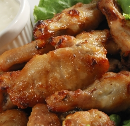 Oriental Sauced Wings
