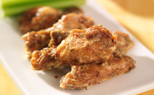 Honey Breaded Wings