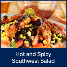 Hot and Spicy Southwest Salad