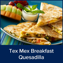 Tex-Mex Breakfast Quesadilla
