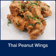 Thai Peanut Wings