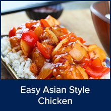 Easy Asian Style Chicken