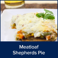 Meatloaf Shepherds Pie